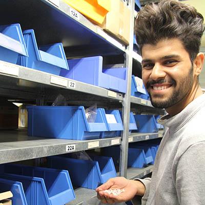Arbeitsumfeld Fachkraft für Lagerlogistik