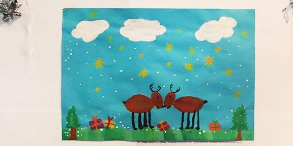 Gemalte Weihnachtskarten.Weihnachtskarten Malwettbewerb 2017 Bei Der Straschu Gruppe